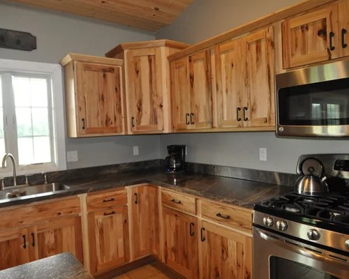 hickory kitchen cabinets containers knotty ideas, pictures, remodel and decor