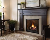 Gas Fireplace Mantel