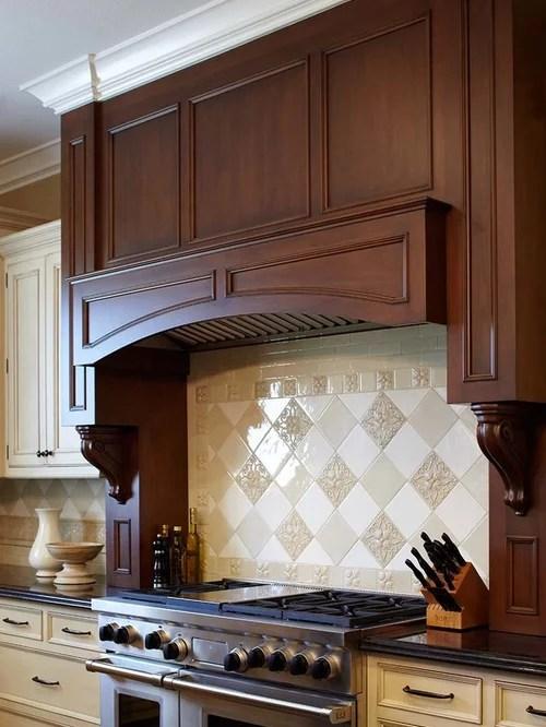 Custom Wood Range Hood Home Design Ideas Pictures