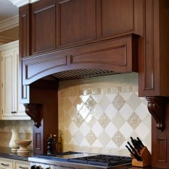 Kitchen Table Island Combo Baby Pink Appliances Custom Wood Range Hood Home Design Ideas, Pictures ...