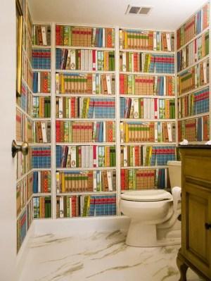 houzz library bathroom wow bathrooms powder books box wall gutekunst angela interiors inc decor rooms jewel take traditional save bold