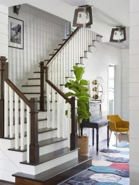 Top 30 L-Shaped Staircase Ideas & Designs | Houzz