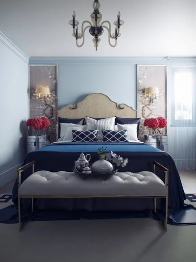 Victorian Bedroom by Виктория Киорсак. Victoria Kiorsak Interior Design