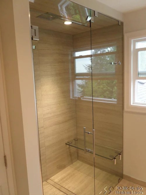 Glass Shower With Bench Home Design Ideas Pictures
