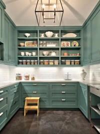 Turquoise Kitchen Cabinets | Houzz