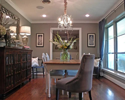 pictures of grey living room walls small design ideas 2018 sherwin williams dorian gray | houzz