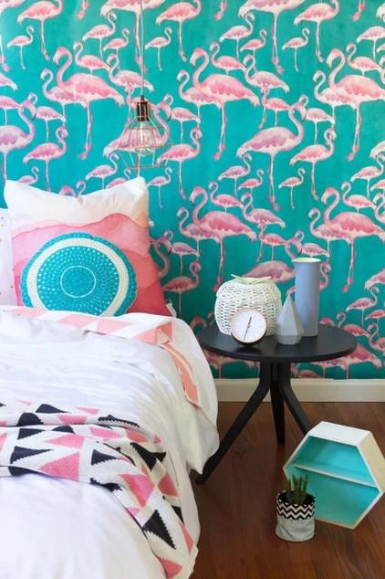 Eclectic Bedroom by The Eclectic Creative Studio
