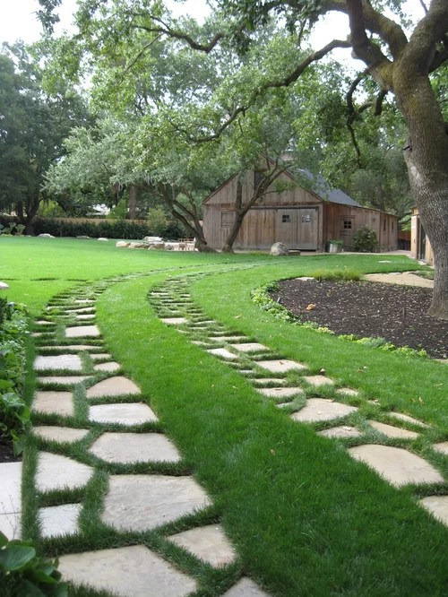 Backyard Driveway