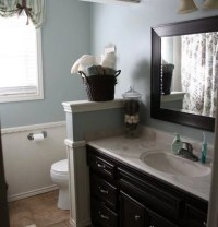Toilet Half Wall Home Design Ideas, Pictures, Remodel and ...