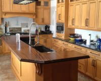 Newtown, PA - Traditional - Sapele Mahogany Wood Counter