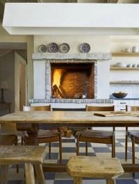 Kitchen Fireplace | Houzz