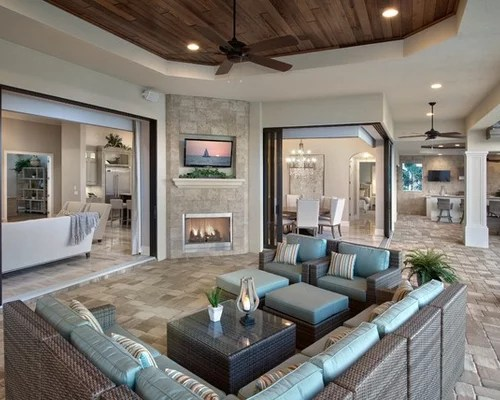 modern interior decorating ideas for living room 2 stand lamps florida lanai design & remodel pictures | houzz
