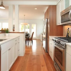Moen Pull Out Kitchen Faucet Antique Red Cabinets Opening Up A Galley Ideas, Pictures, Remodel And Decor