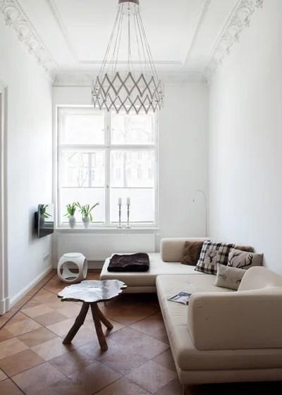 Schmales Wohnzimmer Einrichten Ein Modernes Wohnhaus Nutzt