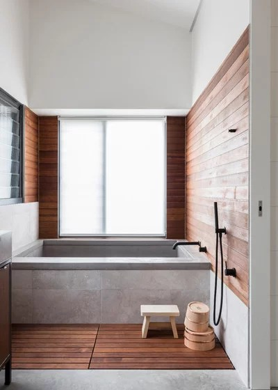 Contemporary Bathroom by Source Architects