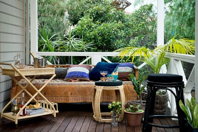 Tropical Porch by Bowerhouse