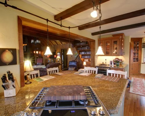 Rustic Track Lighting Home Design Ideas Pictures Remodel