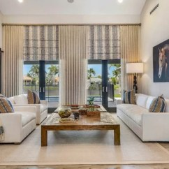 Beach House Living Room Designs Decorating Ideas 2016 Pictures 75 Most Popular Style Design For 2019 Coastal Medium Tone Wood Floor And Brown Photo In Miami With Gray Walls