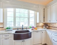 Arched Valance Over Sink | Houzz