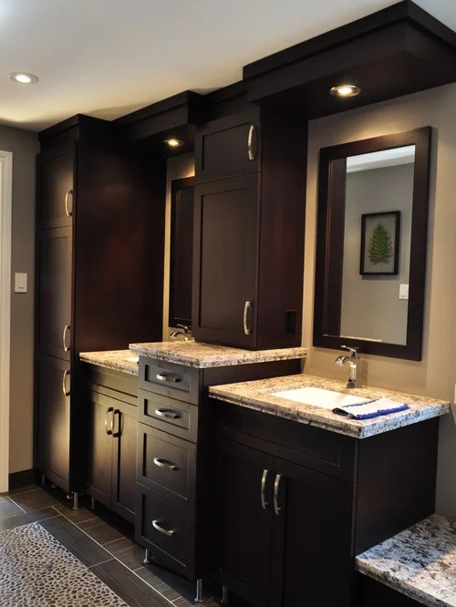 Dark Chocolate Cabinets Ideas Pictures Remodel and Decor