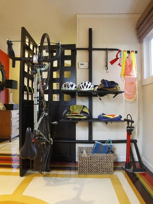 Bike Helmet Storage Ideas Pictures Remodel And Decor