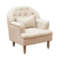 country style wingback chairs metal bistro chair 50 most popular french for 2019 houzz nelson tufted fabric arm sandy beige