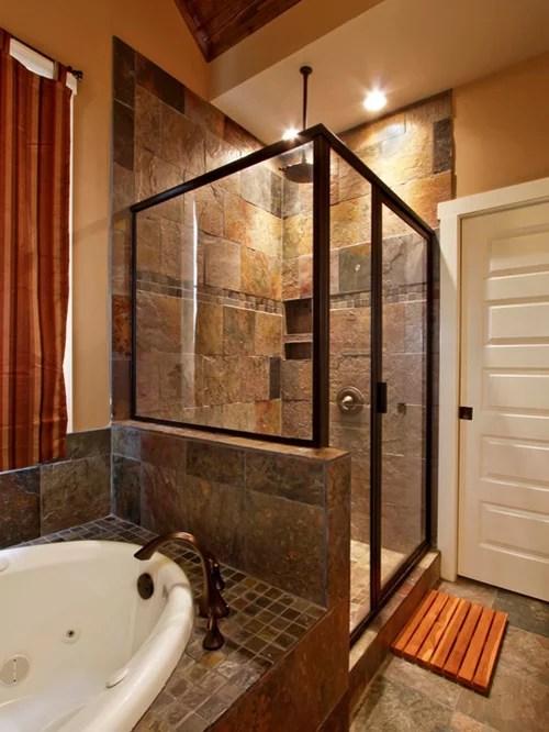 Slate Tile Shower Houzz