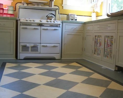 Retro Kitchen Flooring Houzz