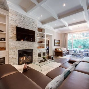 houzz living room paint red and black decorations 75 most popular traditional family design ideas for 2019 large elegant open concept medium tone wood floor brown photo in toronto