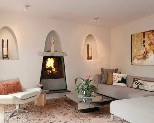 Image Result For Spanish Style Large White Stucco Fireplace Best Spanish-style Fireplace Design Ideas & Remodel