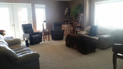 mixing leather and fabric furniture in living room benches etc as you can see is a small so there s lots to consider thanks advance for some help