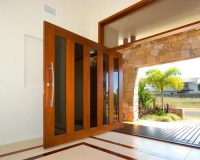 Wide Front Door Home Design Ideas, Pictures, Remodel and Decor