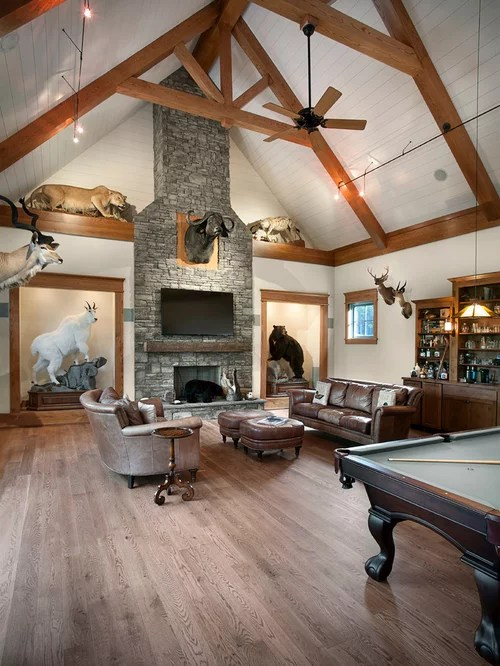 Trophy Room Home Design Ideas Pictures Remodel and Decor