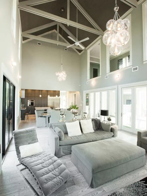 Gray Wood Floors  Houzz