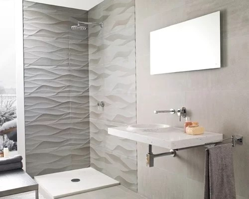 Porcelanosa Wave Tile Home Design Ideas Renovations  Photos