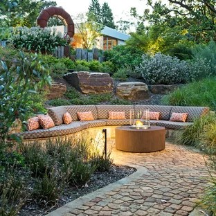 wet area lanedscaping ideas &