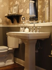 Bathroom Chair Rail Home Design Ideas, Pictures, Remodel ...