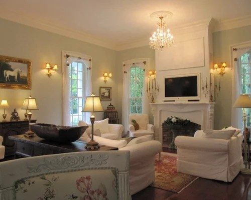 Light Green Living Room Home Design Ideas Pictures Remodel and Decor