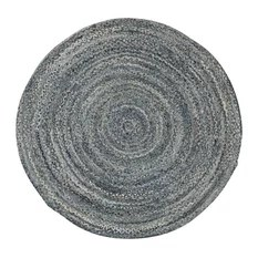 Brasilia 6'x6' Cotton Round Rug Hand Woven Eco Friendly