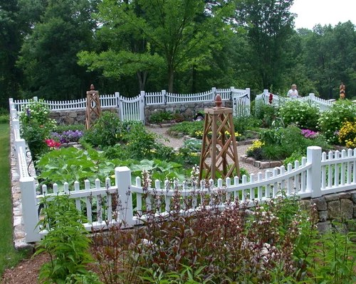 Picket Fence Garden Ideas Pictures Remodel And Decor