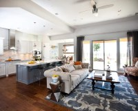 Kitchen Living Room Combo | Houzz