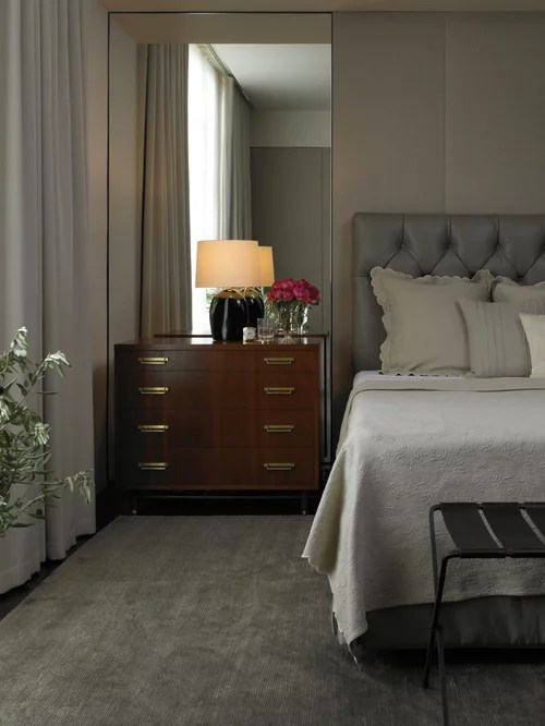 Mirrors Behind Nightstands Home Design Ideas Pictures