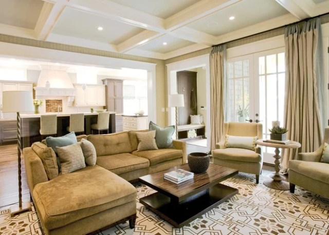 Traditional Family Room by Brian Watford ID