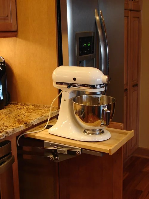 Kitchenaid Popup Mixer  Houzz
