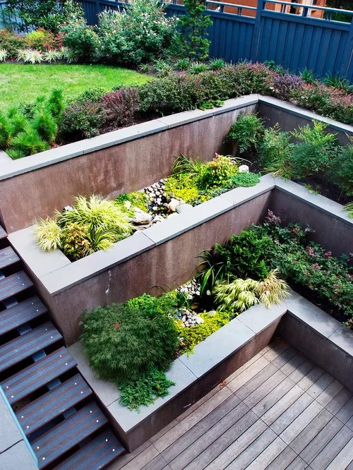 Best Tiered Garden Design Ideas & Remodel Pictures Houzz