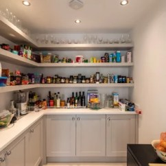 Kitchen Pantry Cupboard Elkay Sink 75 Most Popular Design Ideas For 2019 Stylish Medium Sized Classic L Shaped In Cheshire With Shaker Cabinets Grey