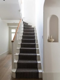 White Painted Stairs Ideas, Pictures, Remodel and Decor