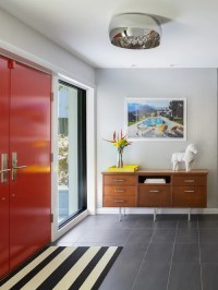 Houzz | Midcentury Entryway Design Ideas & Remodel Pictures