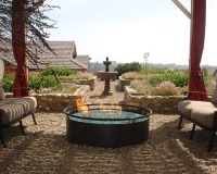 Natural Gas Fire Pit | Houzz