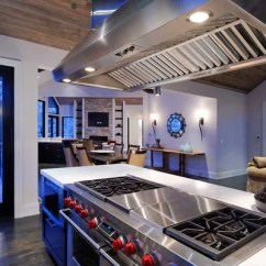 Kitchen Island With Stove Lg Appliances Reviews Hibachi Grill | Houzz